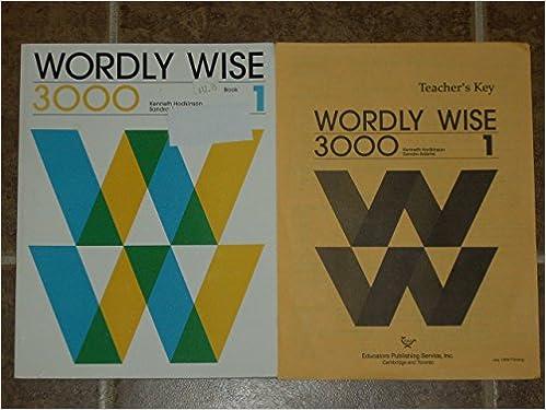 wordly wise 3000 book 1 kenneth hodkinson sandra adams