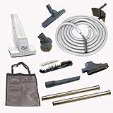 30ft Ultimate Central Vacuum Garage Kit