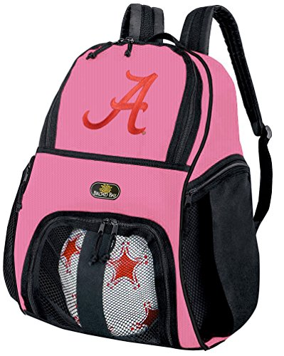Broad Bay Girls University of Alabama Soccer Ball Backpack or Volleyball Bag Ball Carrier by Broad Bay