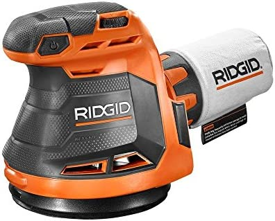 Ridgid R8606B GEN5X 18-Volt 5 in. Cordless Random Orbit Sander Tool-Only, Battery and Charger NOT Included