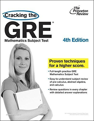 Cracking the GRE Mathematics Subject Test (Princeton Review: Cracking the GRE Math Test) by Leduc, Steven A (2010) Paperback
