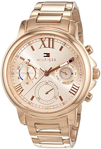 Tommy Hilfiger Women Watch pink gold 1781743