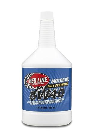 Red Line 15404 5W40 Motor Oil, 1 Quart, 1 Pack