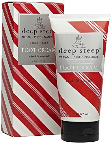 Crème Soins des pieds Steep profonde, bonbons menthe, 6 once