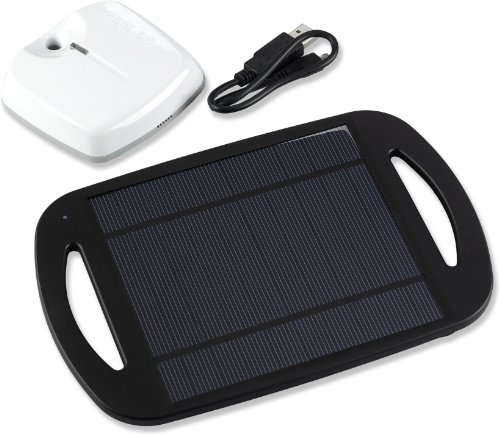 Solio Xcellerator and HUB Battery Pack, Black/White (Solar Solio Charger)