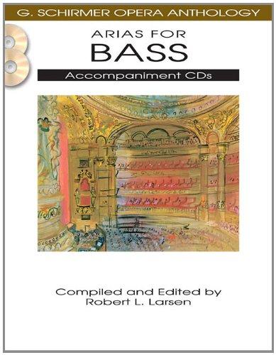 Arias for Bass: G. Schirmer Opera Anthology Accompaniment CDs (2) ()
