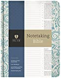 HCSB Notetaking Bible, Blue Floral