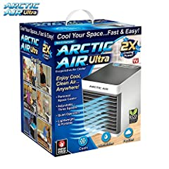 Are you trying to stay cool and comfortable, but you're feeling hot and sweaty? Running the air conditioner all day is noisy and expensive! And fans only blow the hot air around you! Introducing the new and improved, Arctic air Ultra, the Per...