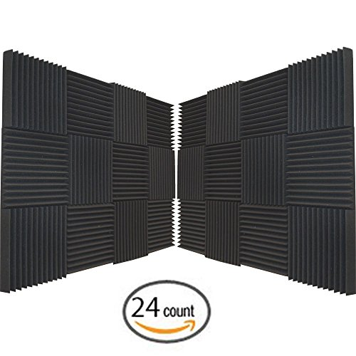 24 Pack Soundproofing Acoustic Studio product image