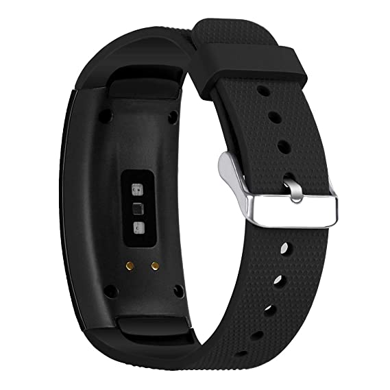 Compatible Samsung Gear Fit2 /Fit2 Pro Band,Soft Silicone Replacement Strap Sport Band Bracelet Wristband Samsung Fit2 SM-R360 /Fit 2 Pro SM-R365 ...
