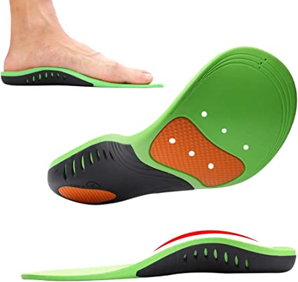 Shoe Insoles, MIBOTE 2 Pairs Arch