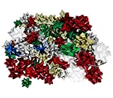 Arts & Crafts : Hollywood Ribbon Inc. Christmas Bows Assortment, 84-Count
