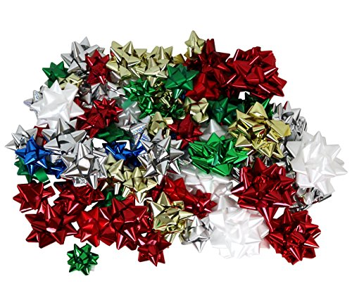 Hollywood Ribbon Inc. Christmas Bows Assortment, ()