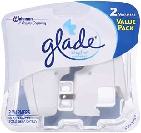 Glade PlugIns Scented Oil Air Freshener, Electric Warmer, 2.0 Count