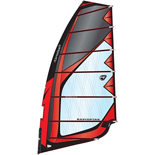 Aerotech Sails 2017 Rapid Fire 6.5m Red Windsurfing Sail by Aerotech Sails (Image #1)