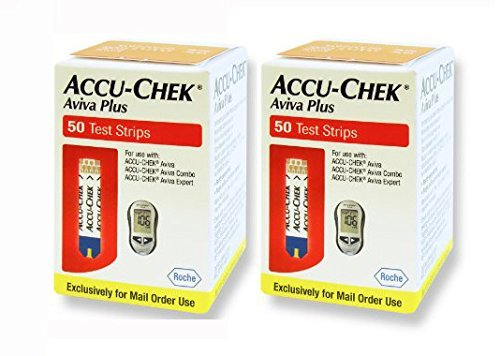 ACCU-CHEK Aviva Plus Mail Order Test Strips (100 Count) 2 Pack