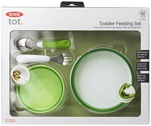 oxo-tot-4-piece-feeding-set-green