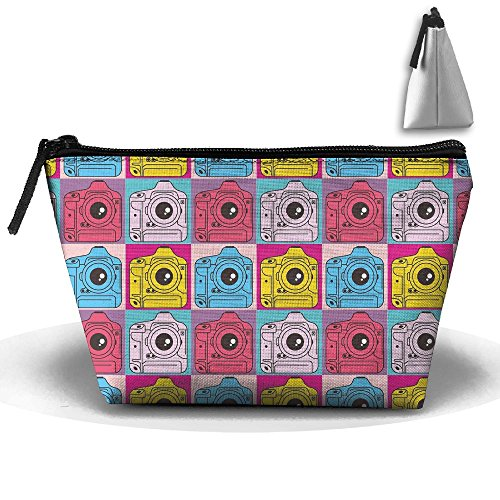 e Travel&home Portable Trapezoidal Make-up Receive Bag Hand Cosmetic Bag ()