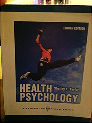 Health psychology 8th edition shelley e taylor 9780071086868 health psychology 8th edition shelley e taylor 9780071086868 amazon books fandeluxe Image collections