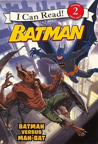 book cover of Batman versus Man-Bat