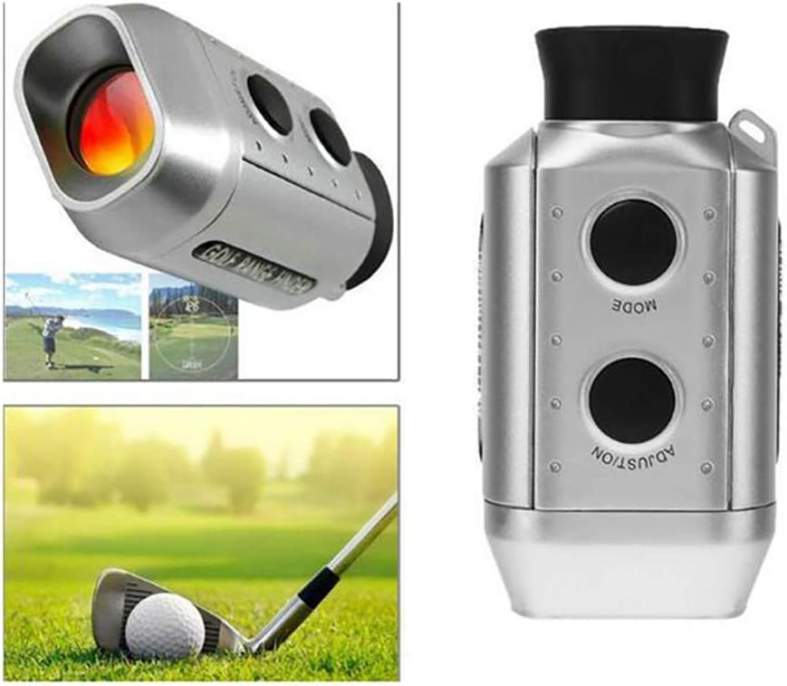 ZQQ Golf Telémetro, De Pulso Portátil Telémetro Láser Digital Óptica 7X Telescopio Monocular del Telémetro Láser para La Caza De Golf Al Aire Libre