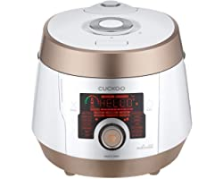 Cuckoo Multi Pressure Cooker, CMC-ASB501F, A50 Premium Series 8 in 1 (Pressure, Slow, Rice Cooker, Browning Fry, Steamer, War