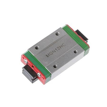 Junlinto, Acero MGN12H Liner Sliding Block Impresora 3D para guía ...