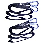 ComCor Two 9 Feet Long Sled Straps with Steel