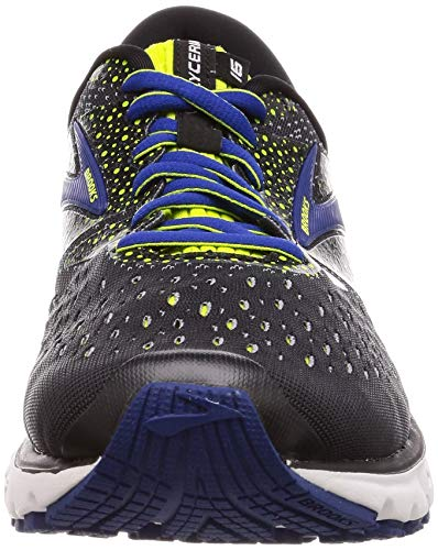 Brooks Running black 050 Glycerin Scarpe Nero lime blue Uomo 16 aqa6g