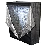 Best Choice Products New 100% Reflective 48″ X 24″ X 60″ Hydroponics Grow Tent Hydro Box Hut Cabinet