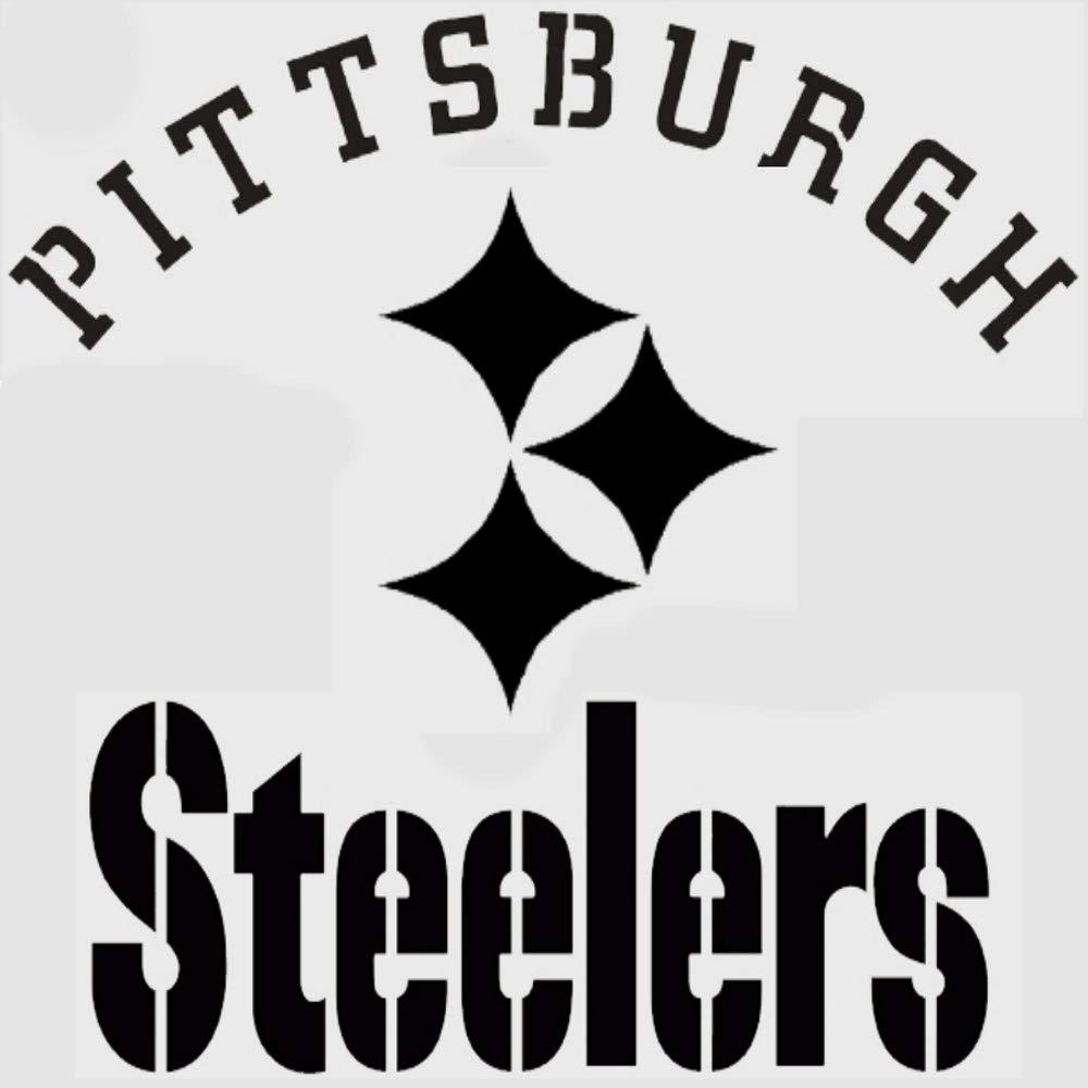 Various SZS Pittsburgh Steelers Logo Stencil Reusable Mancave Sports Football Stencils