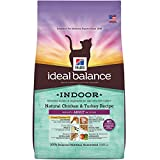 Hill's Ideal Balance Adult Indoor Natural Chicken & Turkey Recipe Dry Cat Food, 7 lb bag