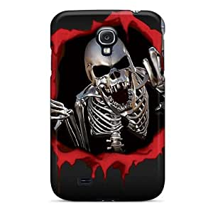 Loveheart Fashion Protective Rude Skull Case Cover For Galaxy S4