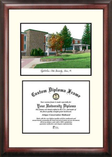 (Appalachian State University Scholar Framed Lithograph with Diploma)