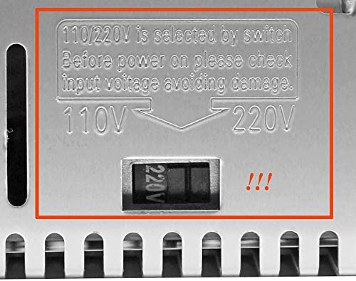 ZANYUYU 24V-360W-15A Power Supply for 795 DC Motor Belt Sander of Speedless Regulation Version