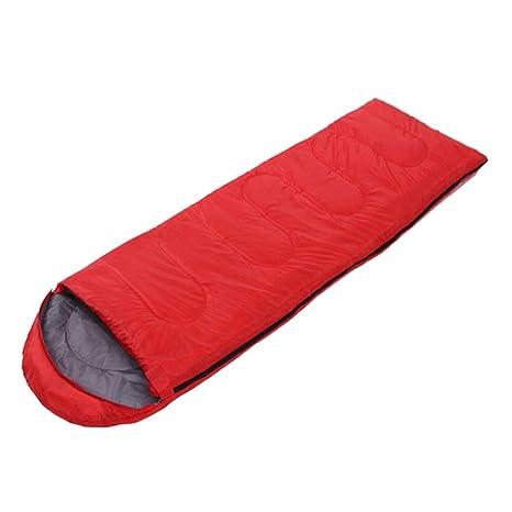 Sobre con Gorro Saco De Dormir para Adultos Acampar Al Aire Libre Algodón Hueco Saco De