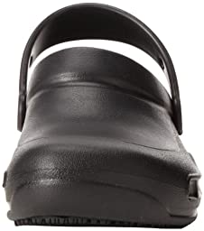 crocs Unisex Bistro Clog, Black,10 US Men\'s/ 12 US Women\'s