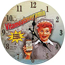 Midsouth Products I Love Lucy Clock - Vitameatavegamin