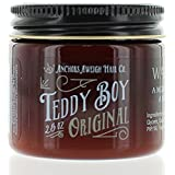 Anchors Hair Company Teddy Boy Original Water Based Styling Pomade, 2.5 oz.