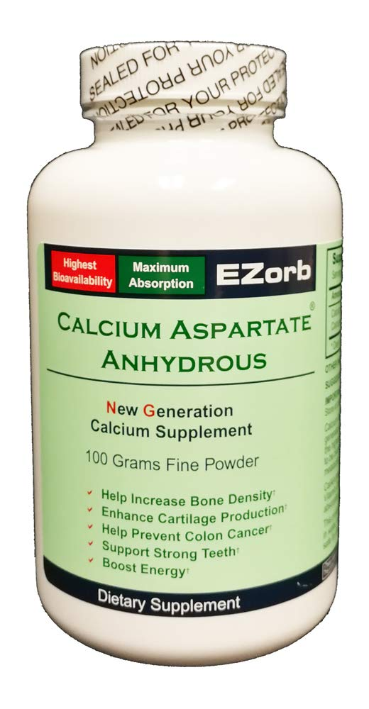 Ezorb Calcium 100g Powder for Bone, Joint, Muscle Health
