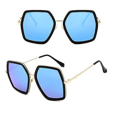 Wang-RX Moda gafas de sol cuadradas de la vendimia mujeres ...