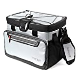 Arctic Zone Titan 16 Can Zipperless Cooler, Silver
