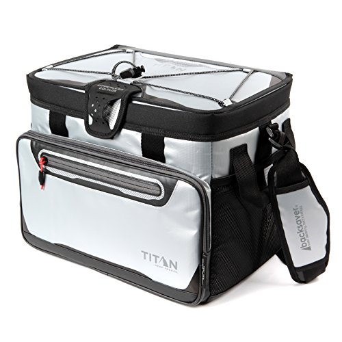 Arctic Zone Titan Deep Freeze 30 Can Zipperless Cooler, Silver ()