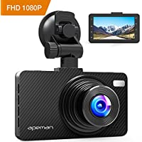 APEMAN 1080P Dash Cam with 3.0