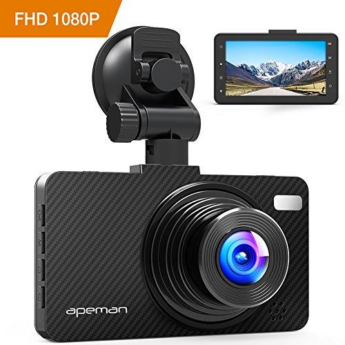 APEMAN Dash Cam Video Recorder DVR Car Dashboard Camera with 1080P FHD 3.0