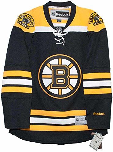 Reebok Jersey Tie - Boston Bruins Home Reebok Premier Men's Jersey (Small)