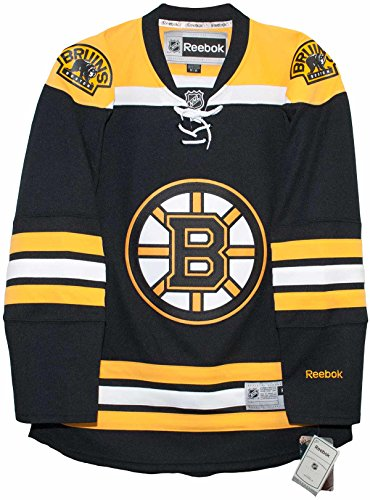 Boston Bruins Home Reebok Premier Men's Jersey (Medium)