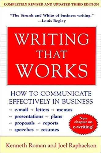 Writing That Works, 3rd Edition: How To Communicate Effectively In Business PDF Descargar