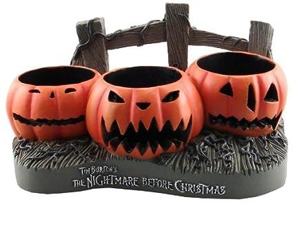 nightmare before christmas jack o lanterns votive holder - Nightmare Before Christmas Jack O Lantern