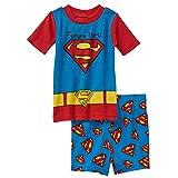 DC Comics Superman Baby Boys 2 Piece Shirt & Shorts Pajama Set (24 Months)
